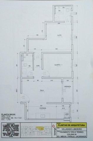 Vendo Apartamento Novo com 54m², 2 quartos, 1 vaga, lazer completo - R$ 225.000,00 - Foto 12