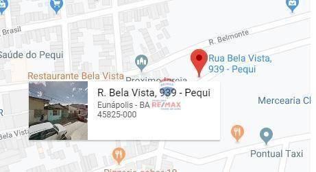 Casa com 3 dormitórios à venda, 59 m² por r$ 70.000 - pequi - eunápolis/ba