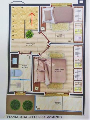 Casa de condomínio à venda com 2 dormitórios em Santa marta, Bento gonçalves cod:9913490 - Foto 12