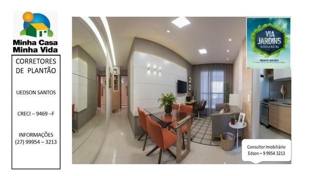 UED-94 - Apartamento 2 quartos com lazer completo em morada de laranjeiras - Foto 7