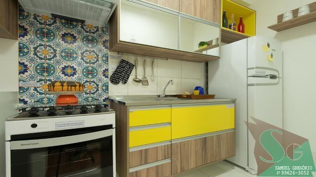 SAM - 107 - Apartamento 2 quartos + 1 espaço multiuso 50m² na Serra - ES