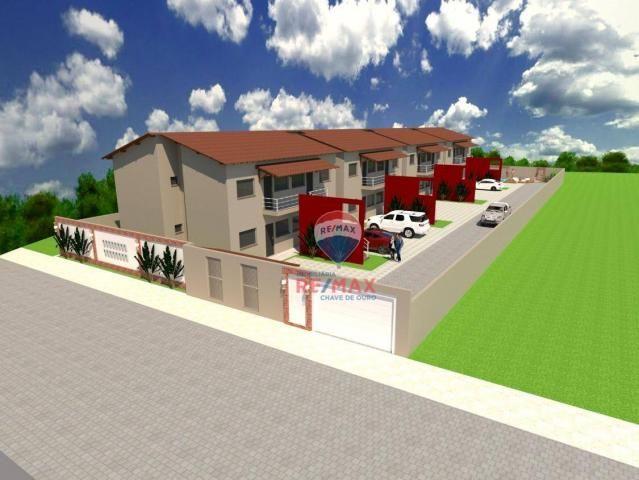 Apartamento com 2 dormitórios à venda, 65 m² por r$ 165.000,00 - cambolo - porto seguro/ba - Foto 3