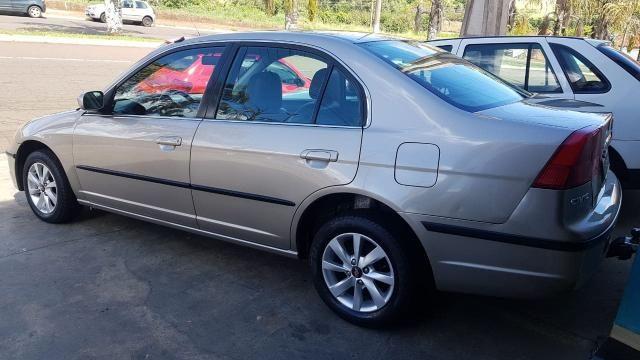 CIVIC 2002/2002 1.7 LX 16V GASOLINA 4P AUTOMÁTICO - Foto 3