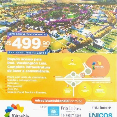 Miravista Residencial completo e moderno bairro planejado de Mirassol