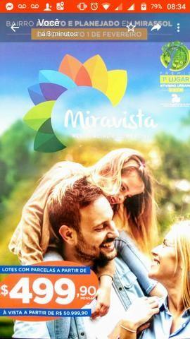 Miravista Residencial completo e moderno bairro planejado de Mirassol - Foto 2