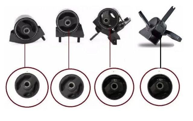 Kit 4 Refil Coxim Calço Motor E Cambio Jac J3