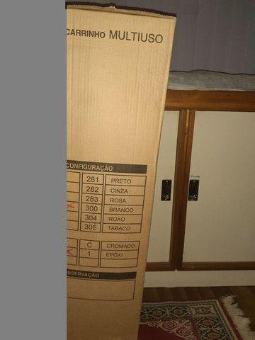 Carrinho auxiliar Dompel Novo na Caixa por 230  reais - Foto 2