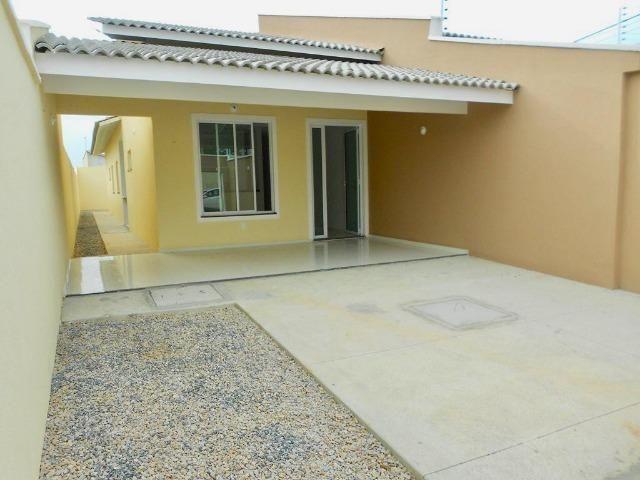 Casa Plana Nascente com 98 m² e 3 Suítes na Messejana - Foto 2