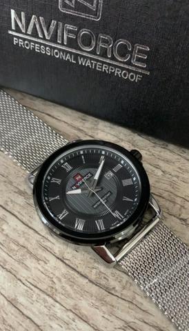 Relógio naviforce top da nossa coleção. Só chamar e enviamos todos os modelos !