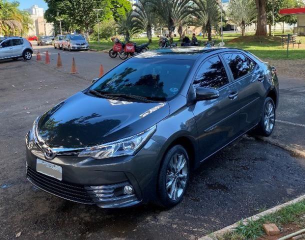 Toyota Corolla 2.0 XEI Cinza 2018/2019 - Novíssimo - Foto 2