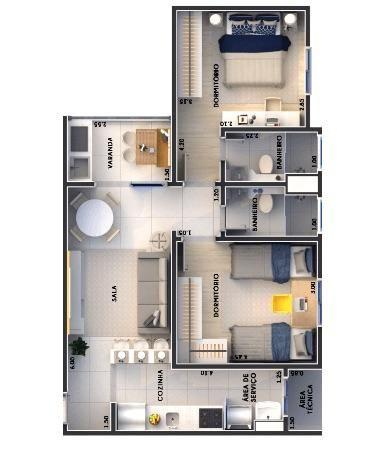 Oport. Apartamento - Nascer do Sol - em Americana - Foto 2