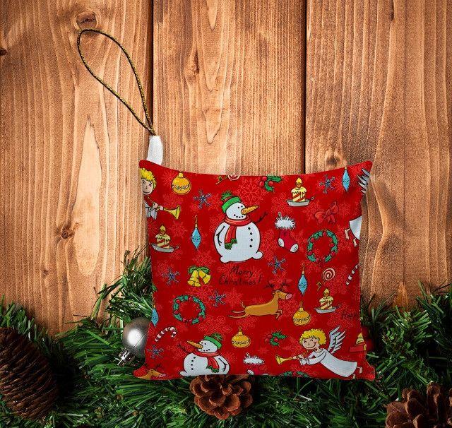 Enfeite De Natal (10unid) Pingente Para Árvore/ Lembrancinha - Foto 6