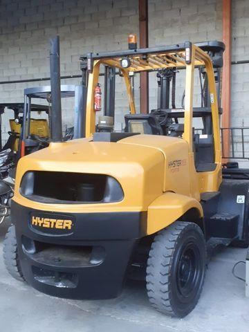 Empilhadeira Hyster FT capacidade 7,0 ton - Foto 2