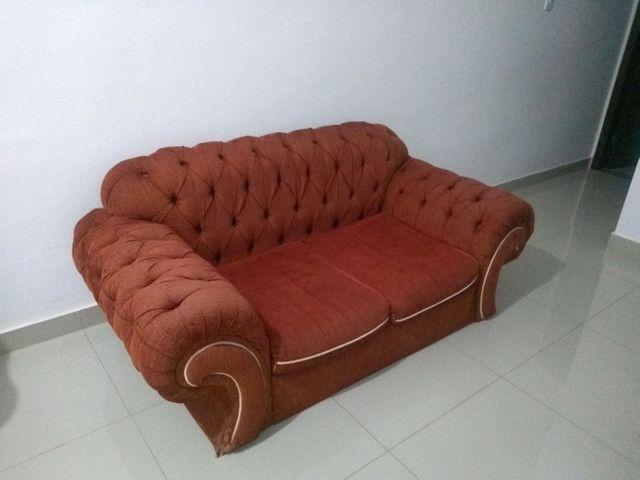 Lindo sofá retrô em Curvelo - Foto 4
