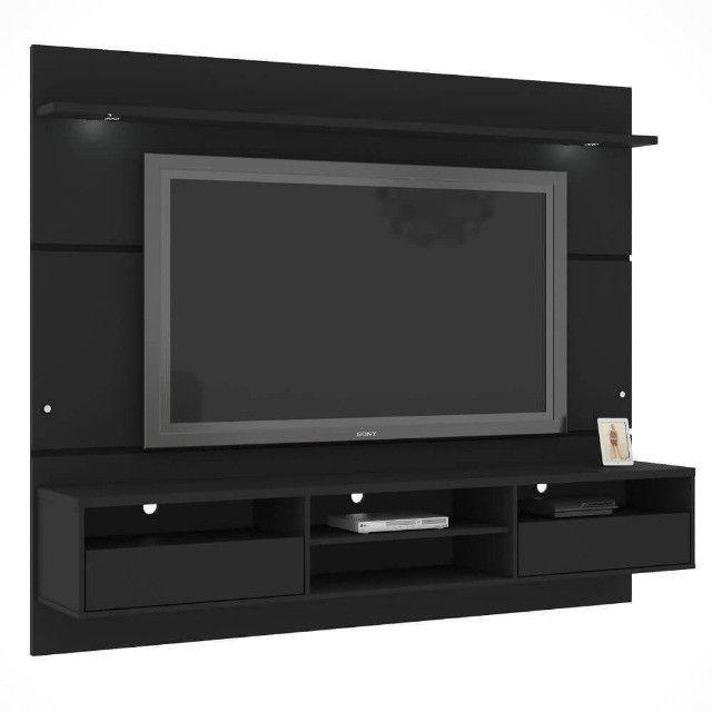 Home Suspenso Angra com Led e SEM espelho para TV até 60 Polegadas MiraRack - Foto 3