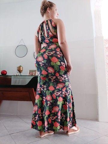 Vestido longo estilo sereia - Foto 3