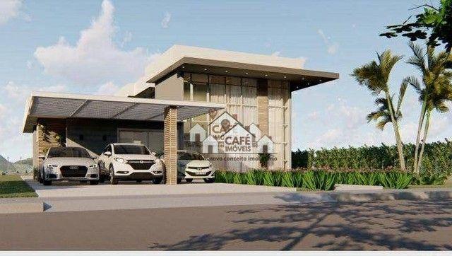 Casa com 4 dormitórios à venda, 251 m² por R$ 1.490.000,00 - Condomínio Mirante do Fidalgo