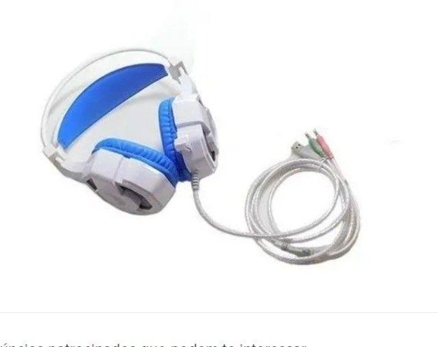 Fone De Ouvido Gamer Para Pc Celular Ps4 Headset Altomex - Foto 3