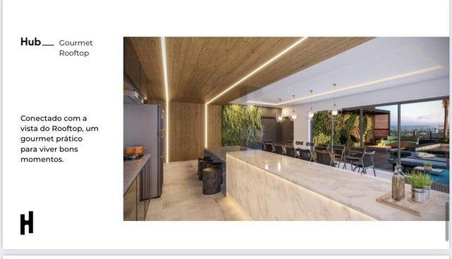 Compacto de luxo, 2 quartos com Varanda Gourmet, Ofurô e Churrasqueira. - Foto 9