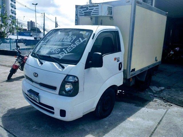 Kia bongo Baú Frio K2500 2014 DH  VE Diesel Nova - Foto 10