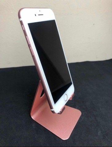iPhone 6s ouro Rosa 128GB sem marcas de uso - Foto 4