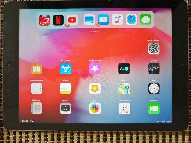 Apple iPad Air 16 gb na cor cinza  Wi-Fi  - Foto 4