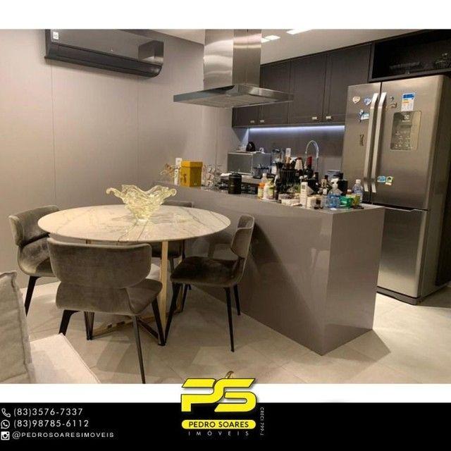 ** PROJETADOS ** Apartamento à venda, 70 m² por R$ 650.000 - Altiplano - João Pessoa/PB - Foto 9