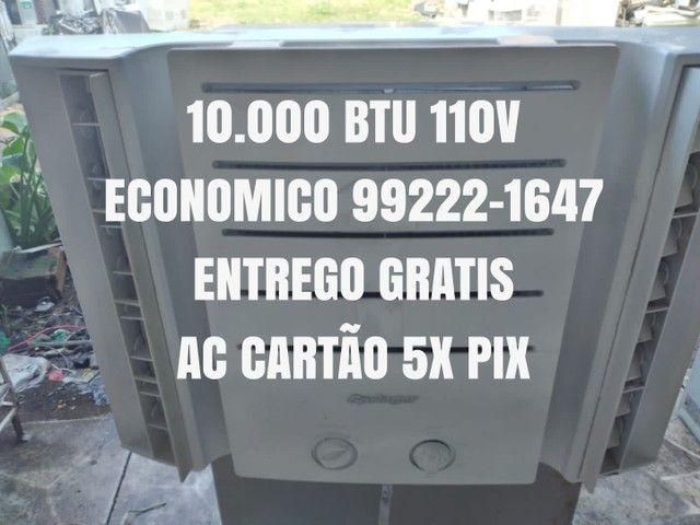 Ar Condicionado Seminovo 10.000 Btu 110V Entrego Agora Gratis Garantia Ac Cartão 5x Pix