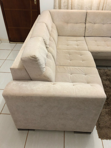 Sofá grande de canto com chase  - Foto 3