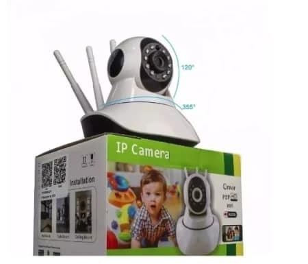 Câmera ip Wi-Fi de segurança  - Foto 3