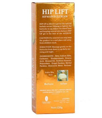 Hip Lift Cresce Levanta Bumbum Bunda Nádegas Reduz Celulite 120g - Foto 3