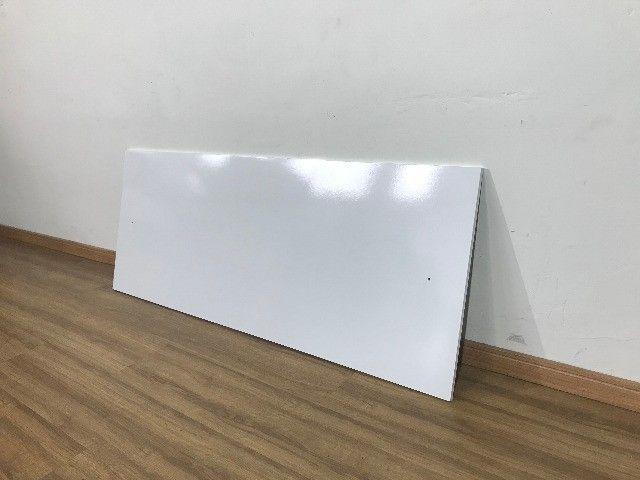 Cabeceira branca para cama de casal - Foto 2