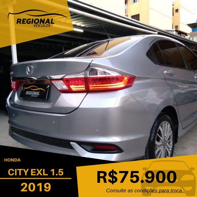 CITY Sedan EXL 1.5 Flex  16V 4p Aut. - Foto 6