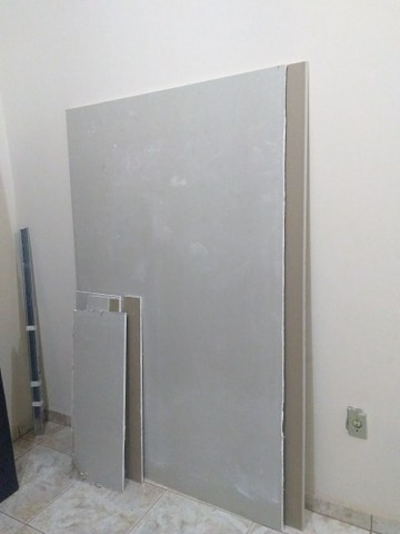Placas de gesso para Drywall