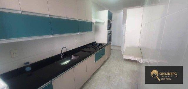 Apartamento com 2 dormitórios à venda, 80 m² por R$ 420.000,00 - Vila Tupi - Praia Grande/ - Foto 20