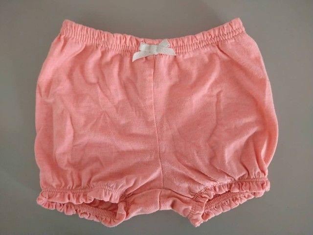 Kit com 2 shorts de elástico tipo bolha da Carters<br><br> - Foto 2