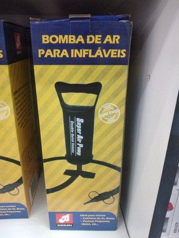 Bomba Ar  Inflador Infláveis Enchimento Piscina<br><br><br>