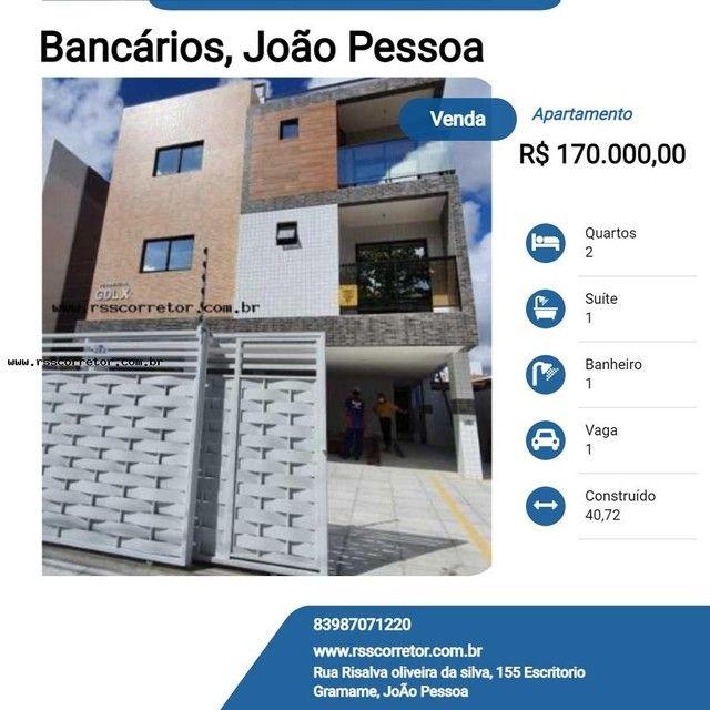 Apartamento para Venda em João Pessoa, Bancários, 2 dormitórios, 1 suíte, 1 banheiro, 1 va