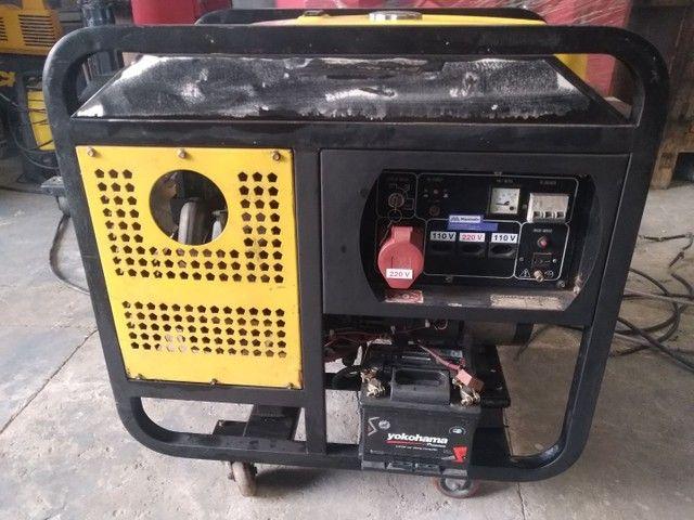 Grupo Gerador de energia a diesel 12 kVA marca Nagano - Foto 2