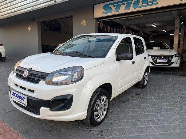 Fiat Uno Attractive 1.0 Flex 2020/2020 Branco Cód. 2055