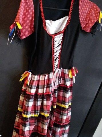 Vestidos de caipira, festa junina. Adulto e infantil  - Foto 2