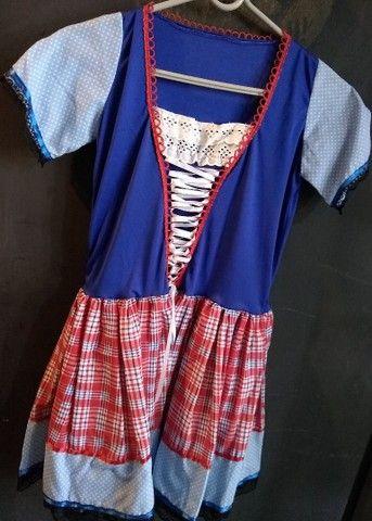 Vestidos de caipira, festa junina. Adulto e infantil  - Foto 4