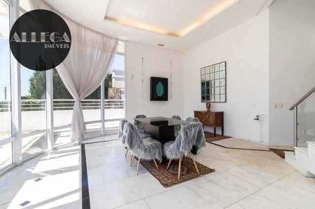 Casa com 5 quartos, 4 suítes, 2 piscinas privativas, à venda, 750 m² por R$ 4.400.000 - Ca - Foto 12