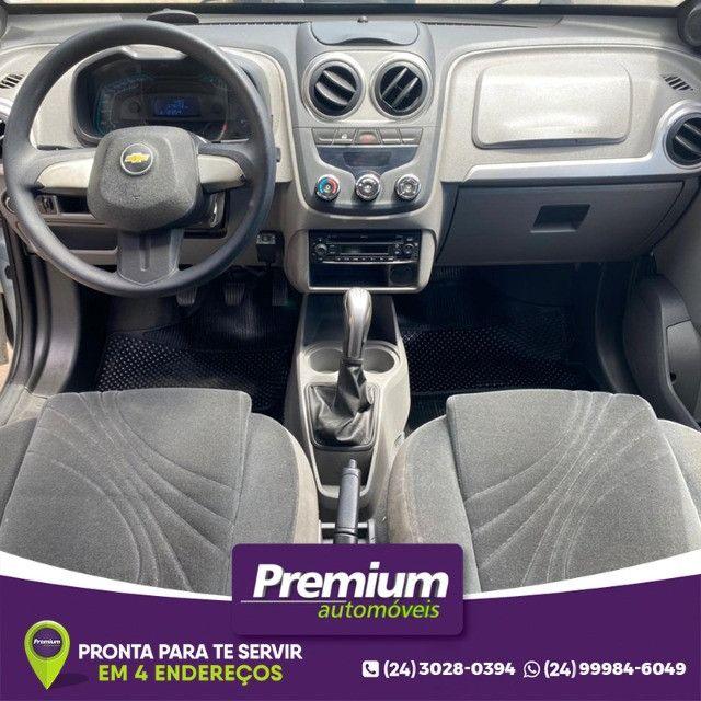 Chevrolet Agile 1.4 Ltz Gnv Prata Ano 2011 Super Novo - Foto 7