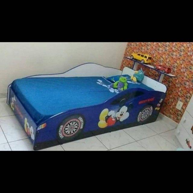 Camas infantis personalizadas, mini cama e Solteirão  - Foto 6
