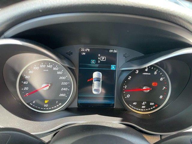 Mercedes C180 Avangard 2019 - Prata Com 19.600 kms Rodados - Foto 8