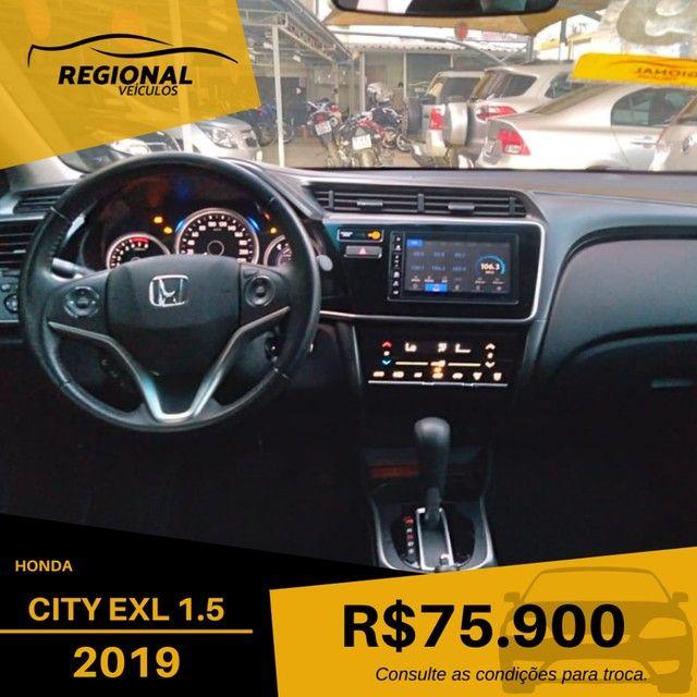 CITY Sedan EXL 1.5 Flex  16V 4p Aut. - Foto 16