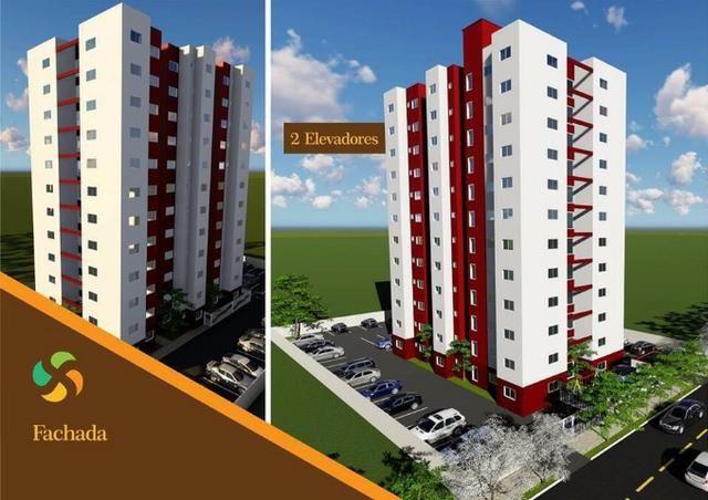 Apartamento 2/4, Elevador, Piscina e Churrasqueira Região Sul de Palmas