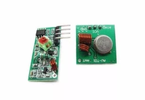 Módulo Rf Transmissor Receptor 433mhz Am Rx Tx - Foto 2