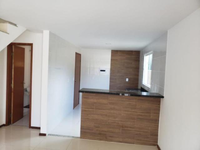 Casa duplex de primeira locação com 2 quartos e vaga em Itaiocaia Valley - Foto 8